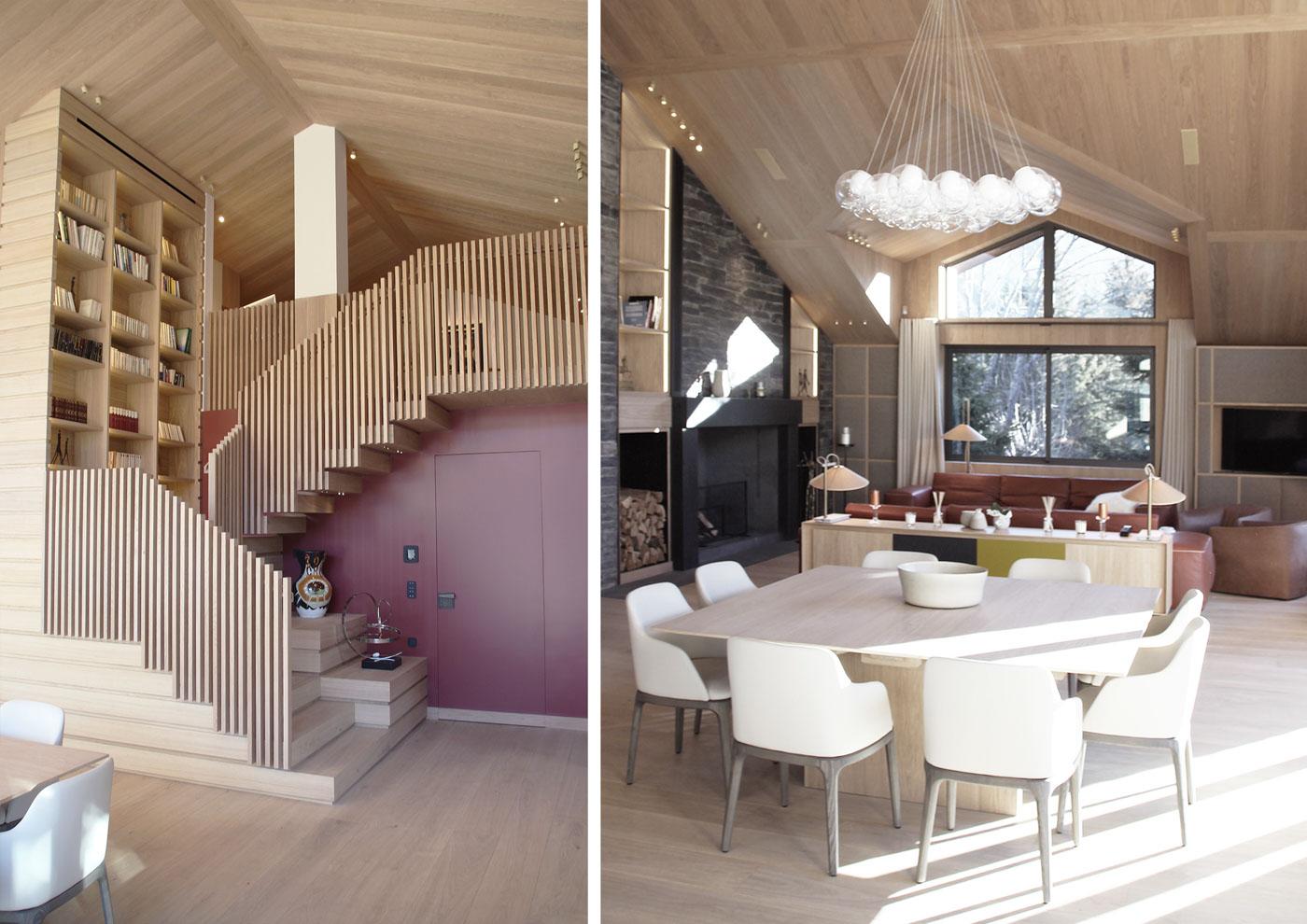 olivier gossart architecte d 39 int rieur paris chalet n courchevel 1650. Black Bedroom Furniture Sets. Home Design Ideas