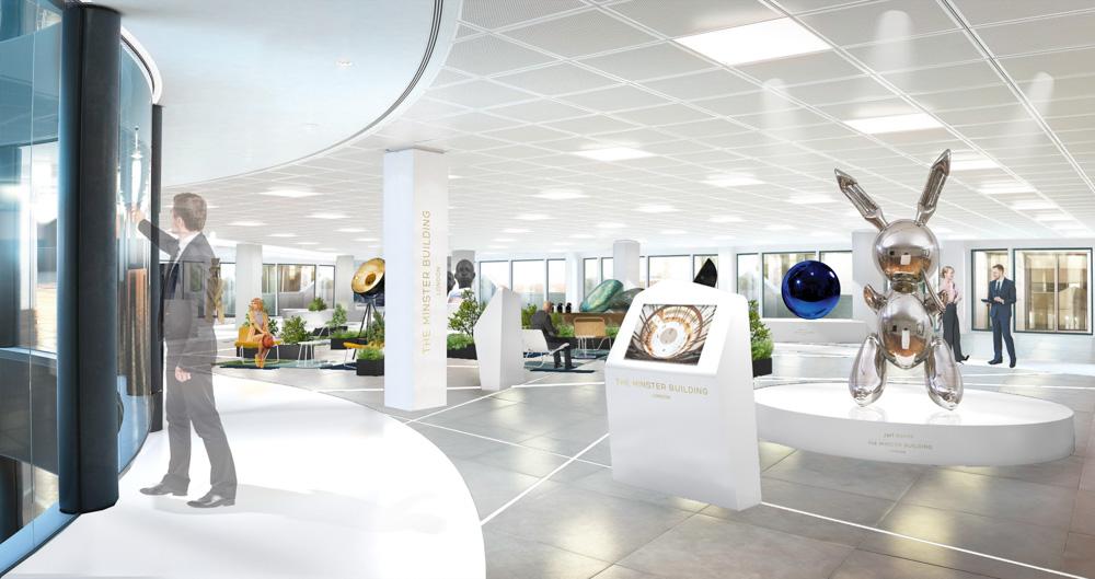 olivier gossart architecte d 39 int rieur paris marketing suite the minster building londres. Black Bedroom Furniture Sets. Home Design Ideas